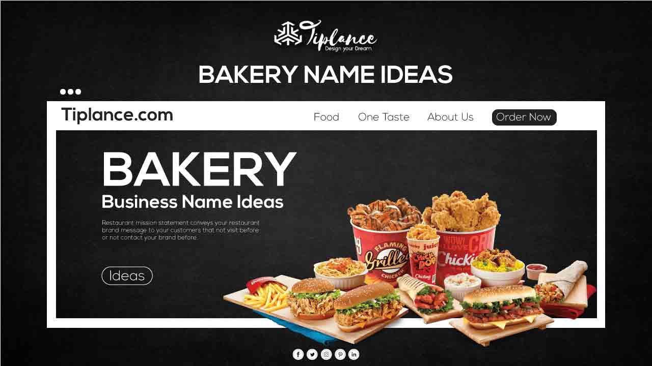 Bakery name ideas
