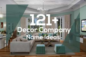 Decor Company Name Ideas