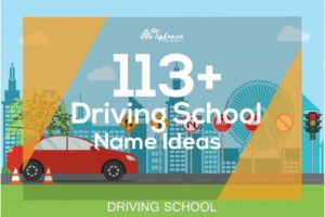 Driving school Name ideas