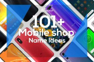 Mobile Shop Name Ideas