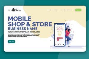 Mobile shop name list