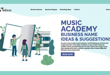 Music Academy name ideas