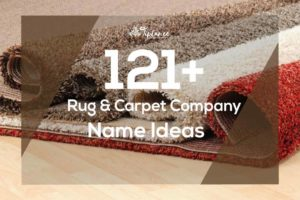 Rug & Carpet company name ideas