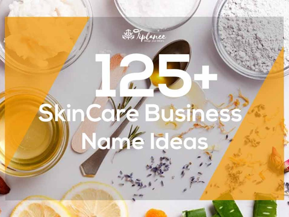 Attractive Skincare Business Name Ideas