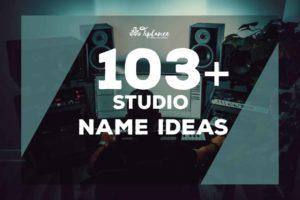 Studio Name Ideas