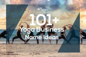 Yoga business name ideas